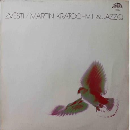 Jazz Q, Martin Kratochvíl – Zvěsti / Tidings (LP/ Vinyl)