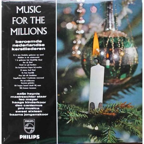 Music For The Millions - Beroemde Nederlandse Kerstliederen (LP / Vinyl)