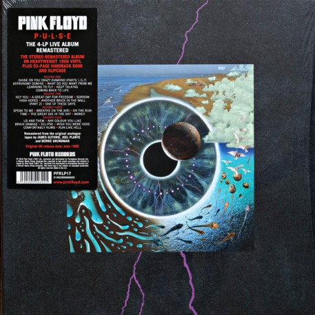 Pink Floyd ‎– Pulse (4LP / Vinyl box)