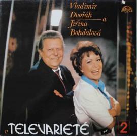 Vladimír Dvořák, Jiřina Bohdalová - V Televarieté 2 (LP / Vinyl)