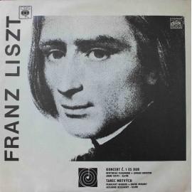 Franz Liszt – Koncert Č. 1 Es Dur / Tanec Mrtvých (LP/ Vinyl)