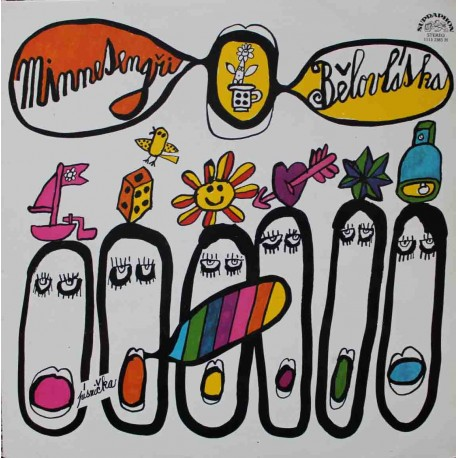 Minnesengři – Bělovláska (LP / Vinyl)