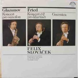 Felix Slováček – Glazunov, Fried (LP / Vinyl)