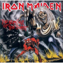 Iron Maiden ‎– The Number Of The Beast  (LP / Vinyl)