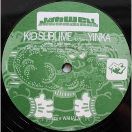 Kid Sublime Featuring Yinka ‎– The Fruit Sugar EP