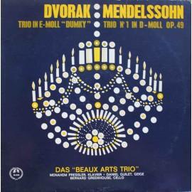Beaux Arts Trio - Mendelssohn, Dvořák – Trio No. I / Dumky Trio  (LP / Vinyl)