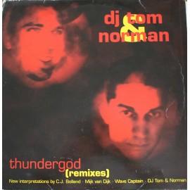 """DJ Tom & Norman – Thundergod (Remixes)  (2x12"""" / Vinyl)"""