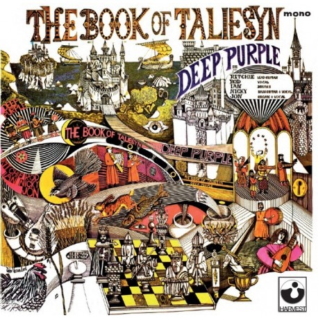 Deep Purple ‎– The Book Of Taliesyn /Record Store Day/ (LP / Vinyl)
