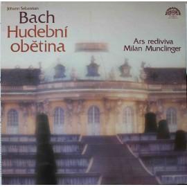 Johann Sebastian Bach – Hudební Obětina (LP/ Vinyl)