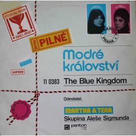 Martha A Tena, Skupina Aleše Sigmunda – Modré Království (The Blue Kingdom) (LP / Vinyl)