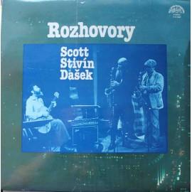 Scott, Stivín, Dašek – Rozhovory (LP / Vinyl)