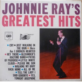 Johnnie Ray ‎– Johnnie Ray's Greatest Hits