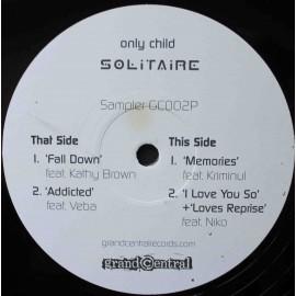"Only Child – Solitaire - Album Sampler (12"" / Vinyl)"