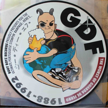 GDF – The Worst Of Guarda De Ferro 1988-1992 (LP / Picture Vinyl)