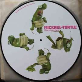 "Mickael Turtle ‎– Ghostbusters (12"" / Picture Vinyl)"