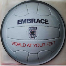 "Embrace ‎– World At Your Feet (7"" / Picture Vinyl)"