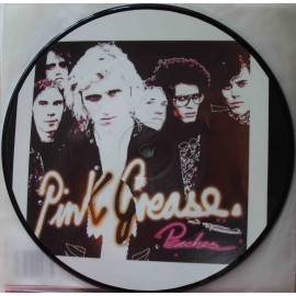 "Pink Grease ‎– Peaches (7"" / Picture Vinyl)"