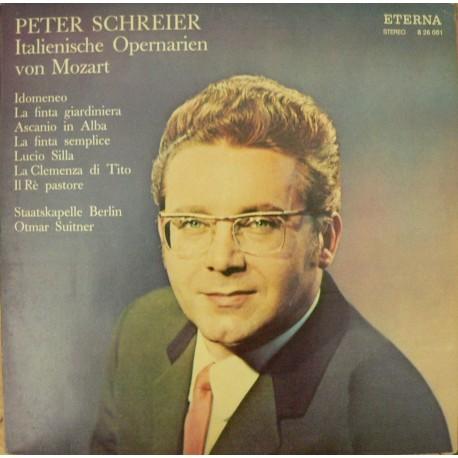 Peter Schreier, W.A. Mozart - Italienische Opernarien von Mozart (LP/vinyl)