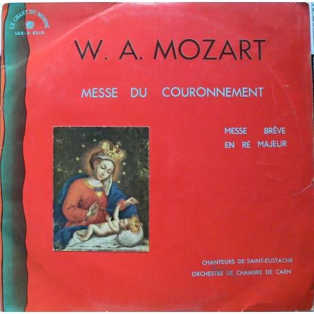 W.A. Mozar – Messe Du Couronnement - Messe Brève En ré Majeur (LP/vinyl)