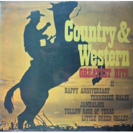 VA - Country & Western Greatest Hits II  (LP / Vinyl)