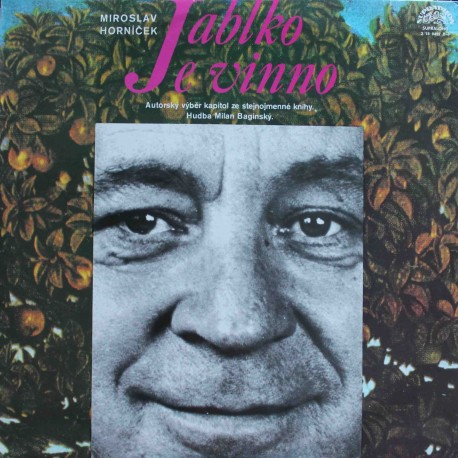 Miroslav Horníček – Jablko Je Vinno (LP / Vinyl)