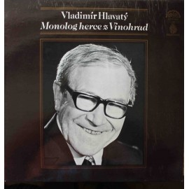 Vladimír Hlavatý - Monolog Herce Z Vinohrad (LP / Vinyl)