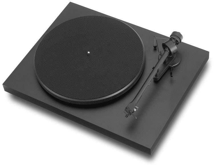 Gramofon PRO-JECT DEBUT III DC + OM5E - BK