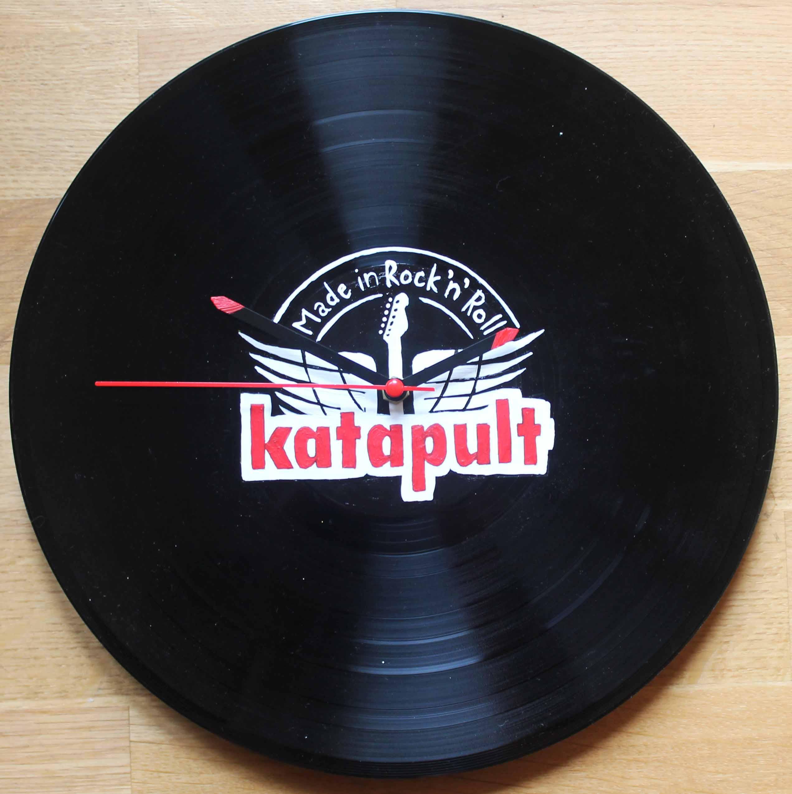 Vinylové hodiny - Katapult