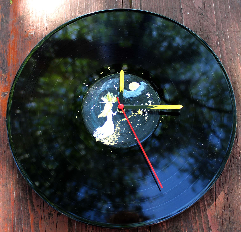 Vinylové hodiny - Večernice