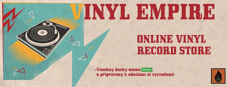Vítejte v našem shopu zaměřeném na vinylové desky :)